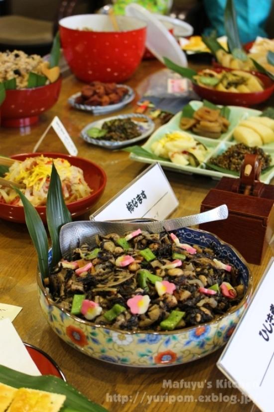京都のおばんざい 初午(はつうま)の畑菜辛子和え。_e0192461_20511903.jpg