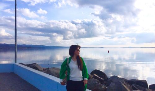 ボルセーナ湖 Lake Bolsena トラットリアPalomba美味しい!チヴィタ・ディ・バーニョレージョ おすすめ!イタリア珍道中2日目 オルヴィエート最後の夜!!!_f0355367_02400306.jpg
