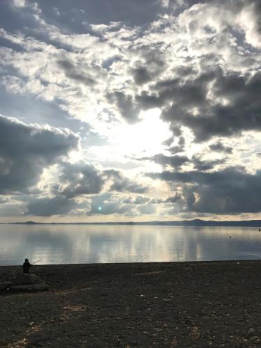 ボルセーナ湖 Lake Bolsena トラットリアPalomba美味しい!チヴィタ・ディ・バーニョレージョ おすすめ!イタリア珍道中2日目 オルヴィエート最後の夜!!!_f0355367_02400412.jpg