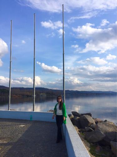 ボルセーナ湖 Lake Bolsena トラットリアPalomba美味しい!チヴィタ・ディ・バーニョレージョ おすすめ!イタリア珍道中2日目 オルヴィエート最後の夜!!!_f0355367_02400535.jpg
