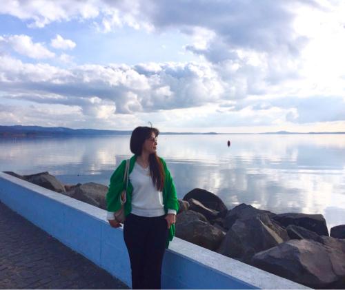 ボルセーナ湖 Lake Bolsena トラットリアPalomba美味しい!チヴィタ・ディ・バーニョレージョ おすすめ!イタリア珍道中2日目 オルヴィエート最後の夜!!!_f0355367_02400566.jpg