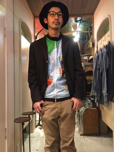 春にも活躍!レイヤード!!(大阪アメ村店)_c0078587_1232036.jpg