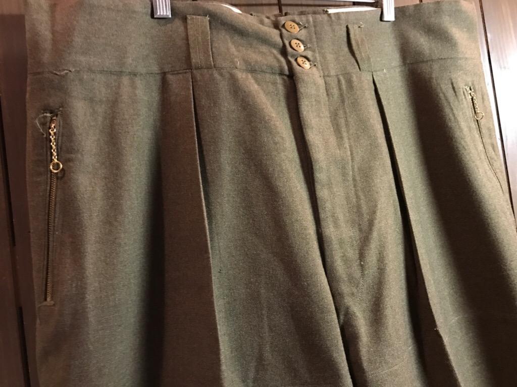 神戸店2/15(水)ヴィンテージ&スーペリア入荷!#1 40\'s US.Army Mountain Trooper Wool Trousers!!!_c0078587_20134457.jpg