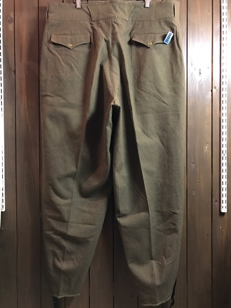 神戸店2/15(水)ヴィンテージ&スーペリア入荷!#1 40\'s US.Army Mountain Trooper Wool Trousers!!!_c0078587_2013743.jpg