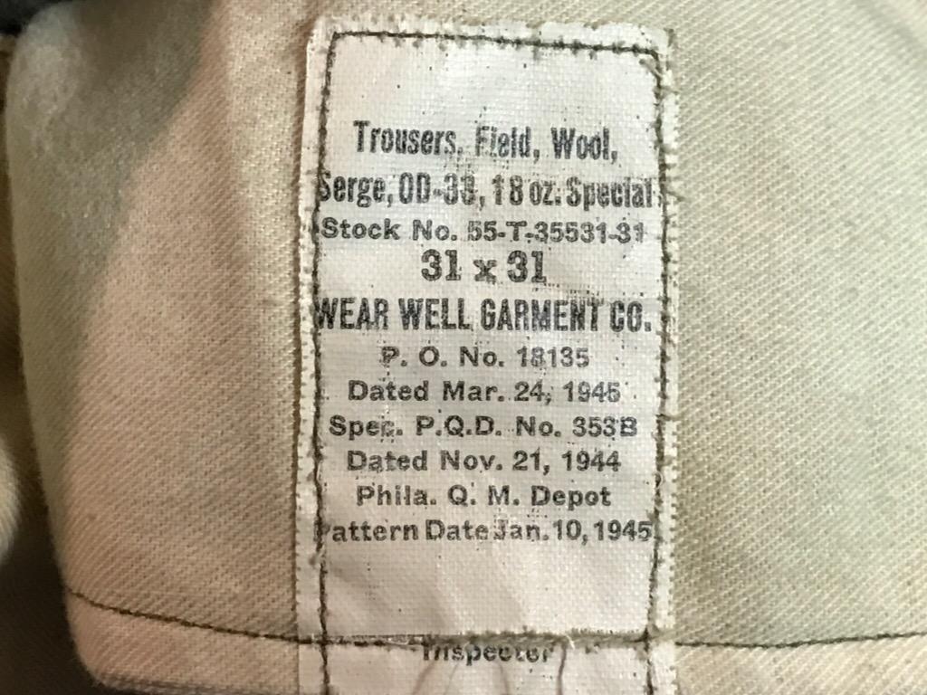 神戸店2/15(水)ヴィンテージ&スーペリア入荷!#1 40\'s US.Army Mountain Trooper Wool Trousers!!!_c0078587_20392791.jpg