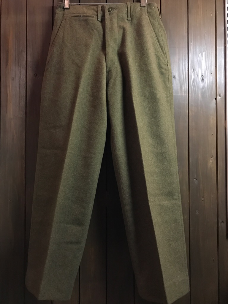 神戸店2/15(水)ヴィンテージ&スーペリア入荷!#1 40\'s US.Army Mountain Trooper Wool Trousers!!!_c0078587_2039572.jpg