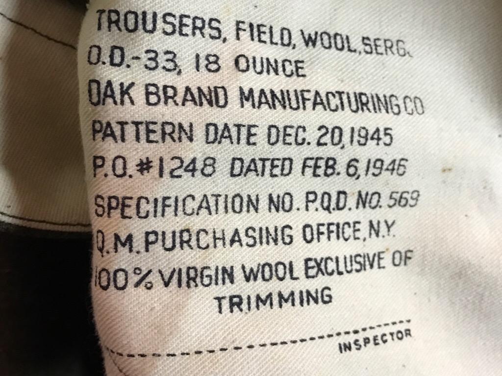 神戸店2/15(水)ヴィンテージ&スーペリア入荷!#1 40\'s US.Army Mountain Trooper Wool Trousers!!!_c0078587_20445776.jpg