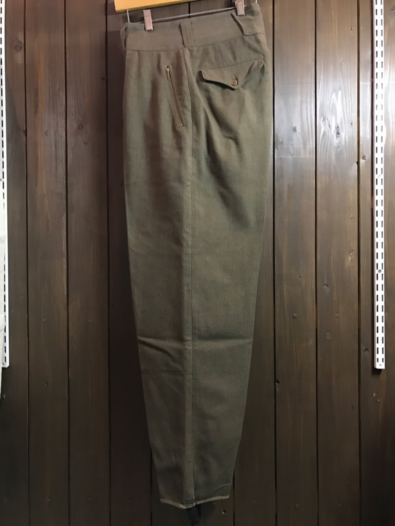 神戸店2/15(水)ヴィンテージ&スーペリア入荷!#1 40\'s US.Army Mountain Trooper Wool Trousers!!!_c0078587_2073742.jpg