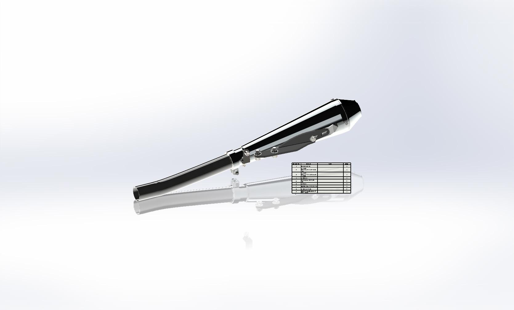 SR400/500 スリップオンマフラー インジェクション対応_a0139843_04091497.jpg