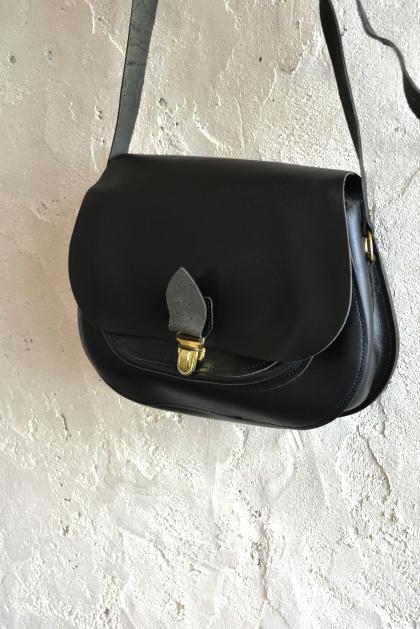 French police leather shoulder bag dead stock_f0226051_15482973.jpg
