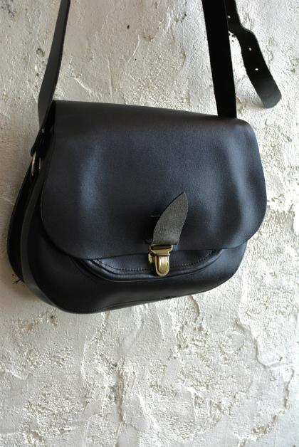 French police leather shoulder bag dead stock_f0226051_15503064.jpg