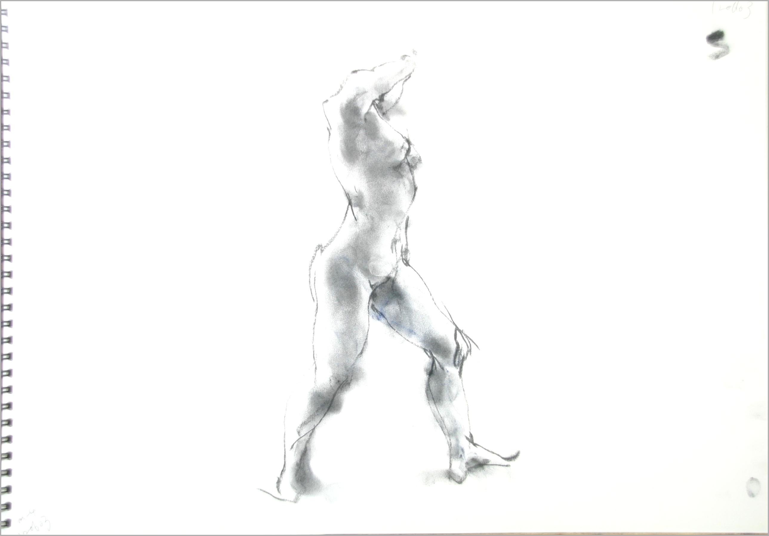 《 90 second croquis & + 光 》 (2) _f0159856_17430587.jpg