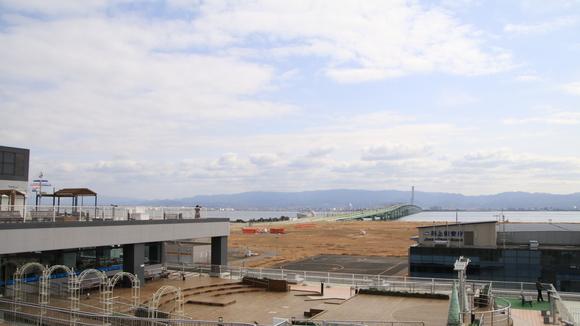 関空から見た大阪府内_d0202264_14483841.jpg