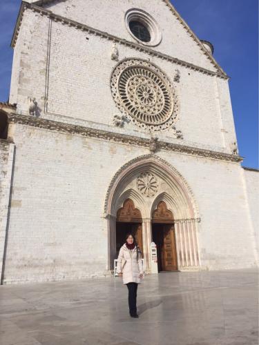 アッシジ 聖フランチェスコ聖堂 神々しいエネルギー満ちる街 イタリア珍道中4日目!トラットリア Pallota ☆_f0355367_23250451.jpg