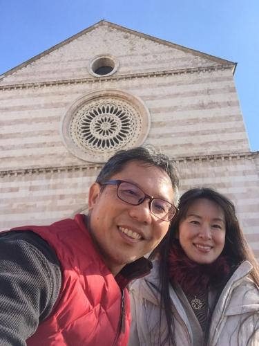 アッシジ 聖フランチェスコ聖堂 神々しいエネルギー満ちる街 イタリア珍道中4日目!トラットリア Pallota ☆_f0355367_23310305.jpg