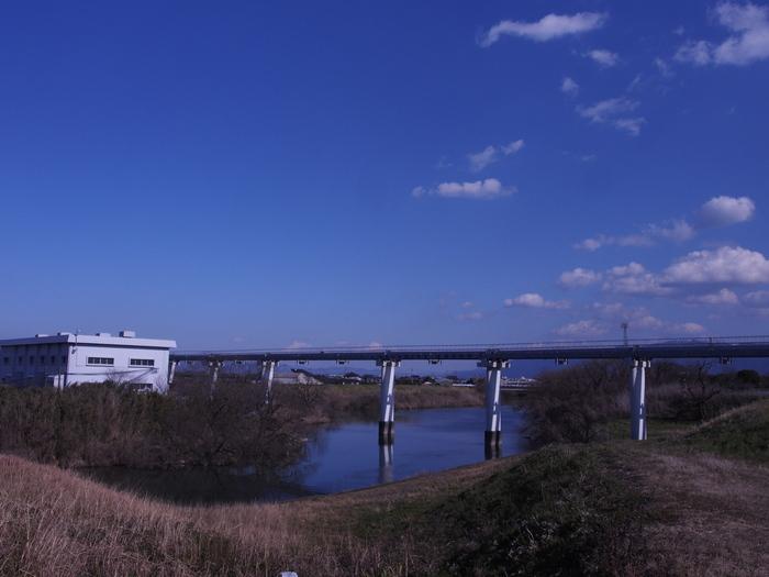 早春の川。宝満川。_a0149488_18461665.jpg