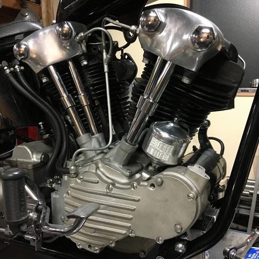 エンジン組み立てて載っけてみましたよ。_d0149307_045691.jpg