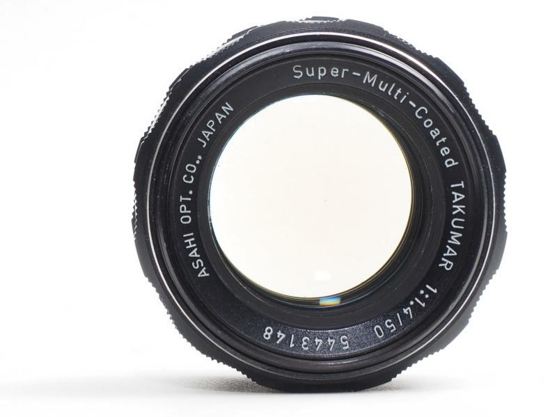 Super Multi Coated Takumar 50mm F1 4 : オールドレンズを