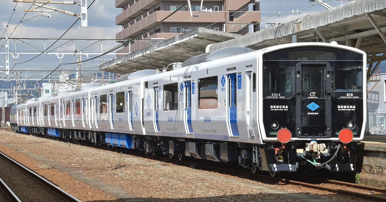 JR九州819系増備車甲種_a0251146_01312052.jpg