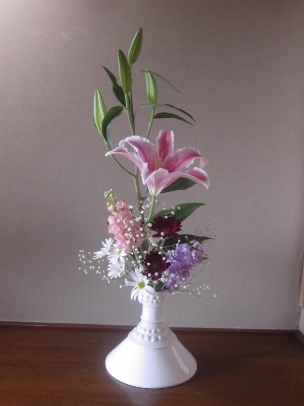 藤村俊二さんが好きな花と言わせたカスミソウ_f0329849_22201635.jpg
