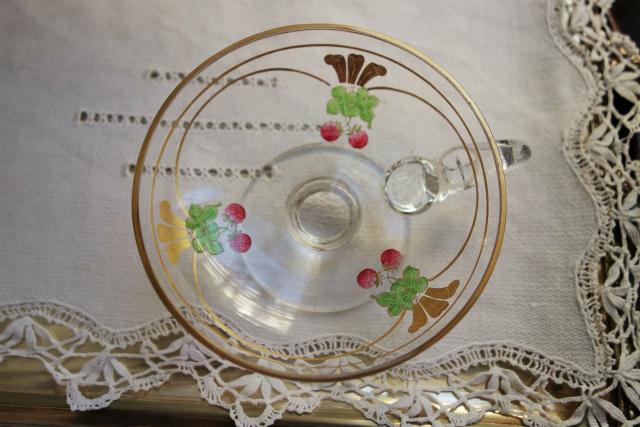 持ち手と台付き金彩入りデザートグラス 半額_f0112550_18560820.jpg