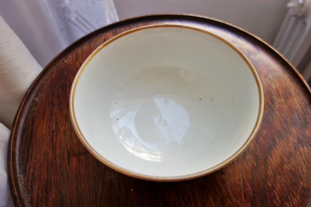 白磁花柄サラダボウル10  半額_f0112550_19221470.jpg