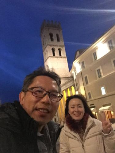 アッシジ 聖フランチェスコ聖堂 神々しいエネルギー満ちる街 イタリア珍道中4日目!トラットリア Pallota ☆_f0355367_06130890.jpg