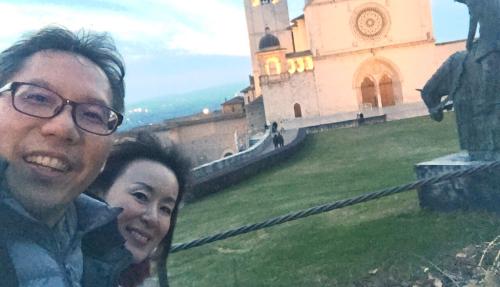 アッシジ 聖フランチェスコ聖堂 神々しいエネルギー満ちる街 イタリア珍道中4日目!トラットリア Pallota ☆_f0355367_17520466.jpg