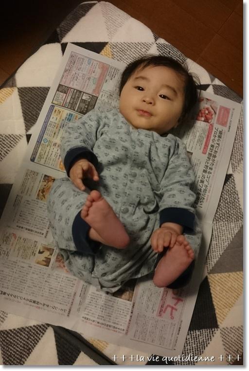 生後4ヶ月☆運動神経を伸ばす遊びと玩具を持ち替えること。_a0348473_09421209.jpg