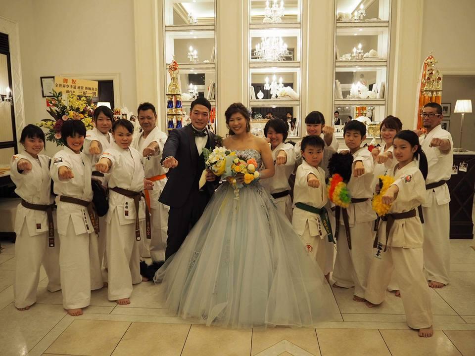 辻健介選手、将口恵美選手、ご結婚おめでとうございます。 : 三好一男 ...