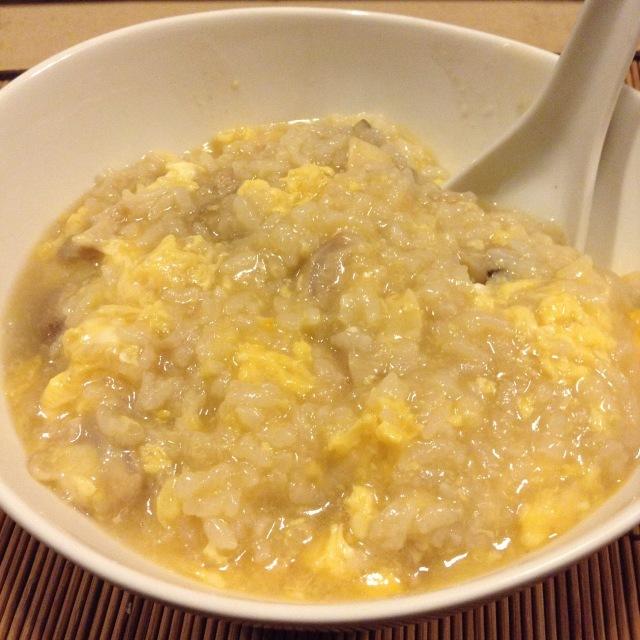 鶏ナンコツの雑炊。_a0334793_08213968.jpg