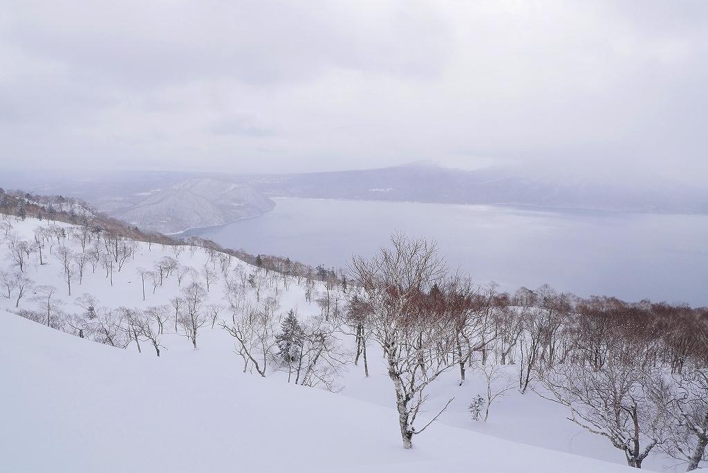 紋別岳から748mピークピストン、2017.2.14_f0138096_21450083.jpg