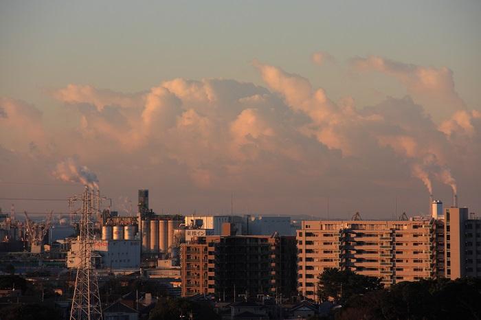 塔状雲 (層積雲)_b0268615_7585885.jpg