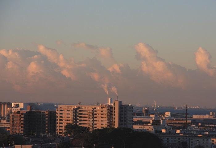 塔状雲 (層積雲)_b0268615_7591888.jpg