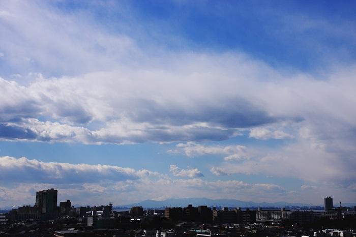 扁平雲 (積雲)_b0268615_8122776.jpg