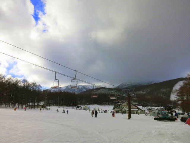 蕎麦の茶屋 丸山 ~ 湯の丸スキー場 @湯の山高原_f0236260_16181603.jpg