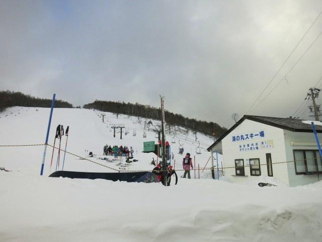 蕎麦の茶屋 丸山 ~ 湯の丸スキー場 @湯の山高原_f0236260_16213559.jpg