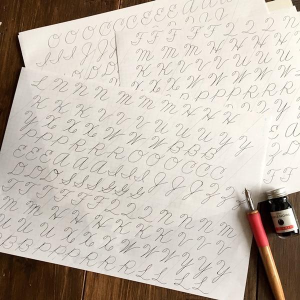 スペンサリアン4回目 基礎練習とBusiness Writing大文字_b0165872_20075726.jpg