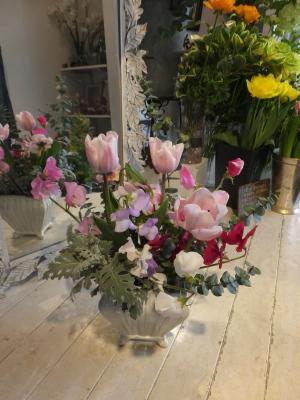 オークリーフ花の教室(山田さんと天艸さんの作品)_f0049672_18104161.jpg