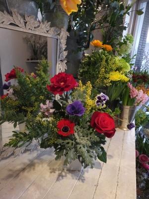 オークリーフ花の教室(山田さんと天艸さんの作品)_f0049672_18113565.jpg