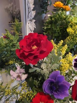オークリーフ花の教室(山田さんと天艸さんの作品)_f0049672_18115108.jpg
