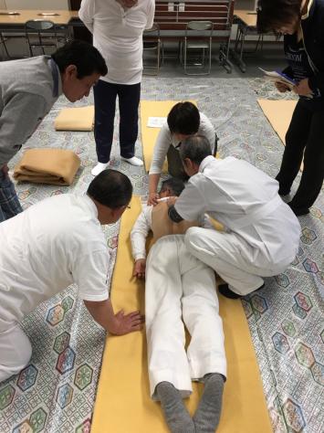 日本指圧協会 学術部 指圧研究会日本赤十字社にて。_a0112393_18331752.jpg