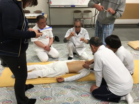 日本指圧協会 学術部 指圧研究会日本赤十字社にて。_a0112393_18331962.jpg