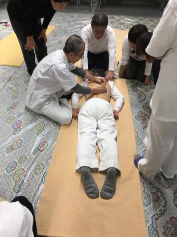日本指圧協会 学術部 指圧研究会日本赤十字社にて。_a0112393_18332031.jpg