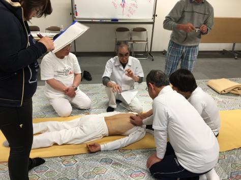 日本指圧協会 学術部 指圧研究会日本赤十字社にて。_a0112393_18332050.jpg
