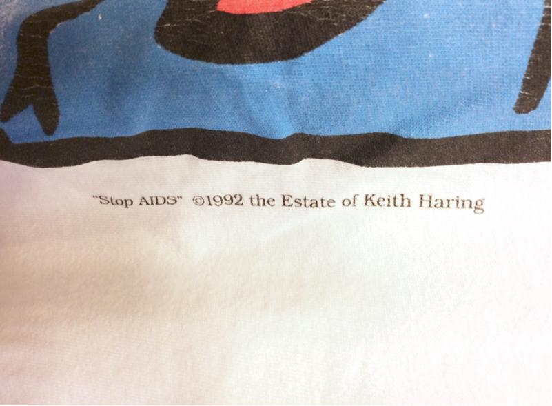 「 RIP KEITH HARING & STUSSY BAG 」_c0078333_17253027.jpg