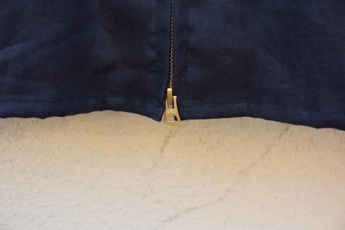arbre 麻のスウィングトップ と 白いボタンダウンシャツ_d0334060_15053143.jpg