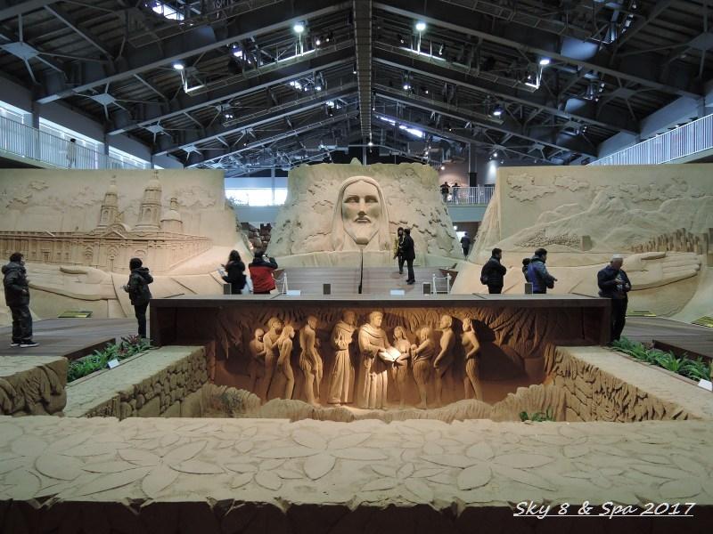 ◆ 2016最後の美食旅、その13 「鳥取砂丘 砂の美術館」へ  (2016年11月)_d0316868_1010629.jpg