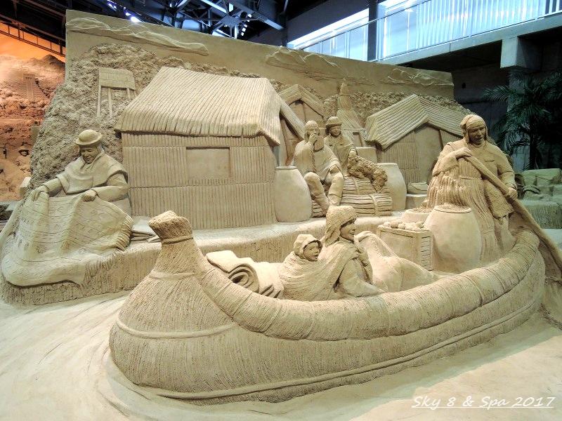 ◆ 2016最後の美食旅、その13 「鳥取砂丘 砂の美術館」へ  (2016年11月)_d0316868_1052346.jpg