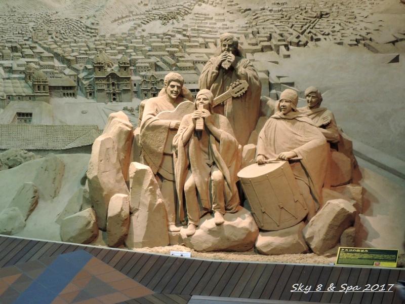 ◆ 2016最後の美食旅、その13 「鳥取砂丘 砂の美術館」へ  (2016年11月)_d0316868_9552866.jpg